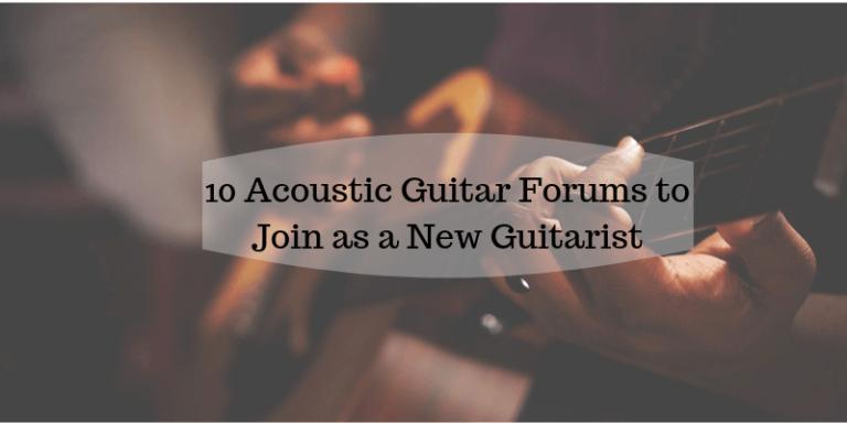 Acoustic guitar forums