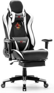 Ficmax Ergonomic Gaming Chair for gaming video editing