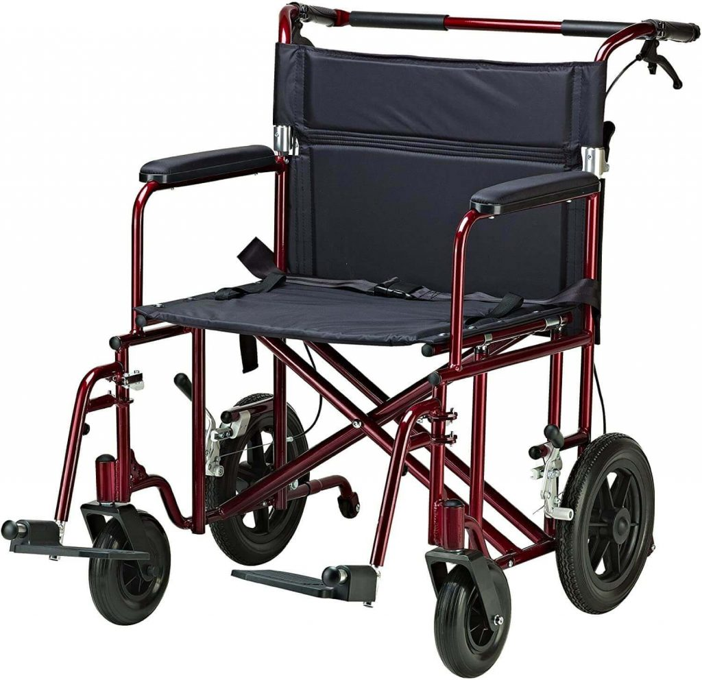 Drive Medical Bariatric Lightweight Transport Wheelchair