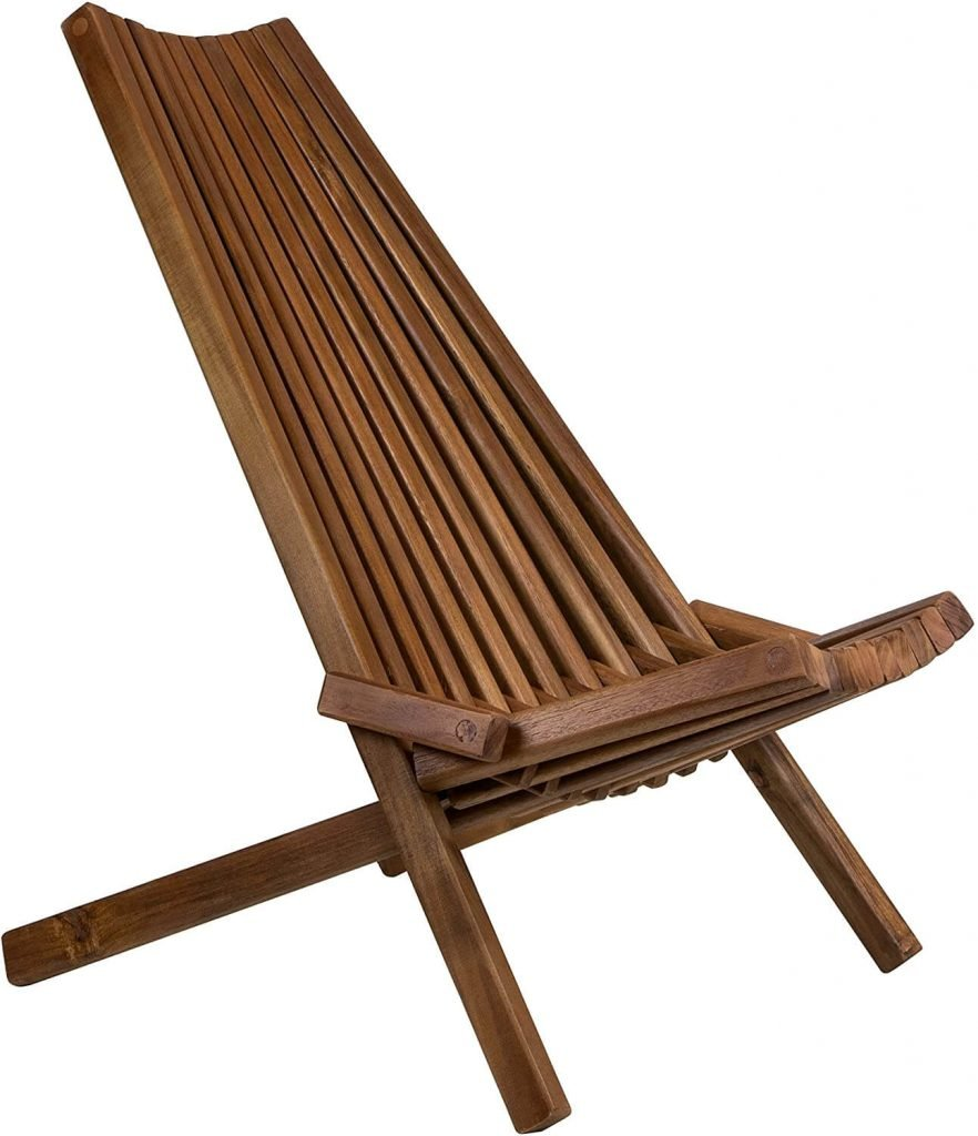 Wooden patio chairs
