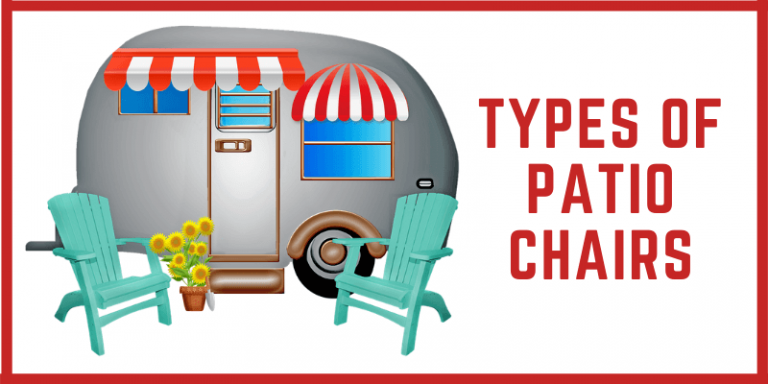 Types Of Patio Chairs: Most Comfortable Outdoor Chairs